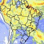 """<span class=""""entry-title-primary""""><span style='color:#ff0000;font-size:14px;'>PREVISÃO DO TEMPO </span><br> O que esperar da chuva até o início de março?</span> <span class=""""entry-subtitle"""">Veja a tendência de precipitação para os próximos dez dias em todas as regiões do Brasil </span>"""