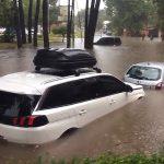 Muita chuva e tornado na Argentina