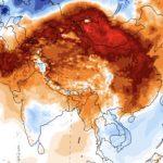 """<span class=""""entry-title-primary""""><span style='color:#ff0000;font-size:14px;'>EXTREMOS </span><br> Recordes de calor na Ásia Central</span> <span class=""""entry-subtitle"""">Diversos países tiveram recordes de temperatura para o mês de fevereiro </span>"""
