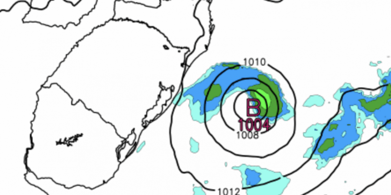 "<span class=""entry-title-primary"">Baixa pressão na costa trará instabilidade</span> <span class=""entry-subtitle"">Sistema influenciará áreas mais a Leste do Sul do Brasil </span>"
