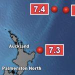 Maior sequência de intensos terremotos em uma década