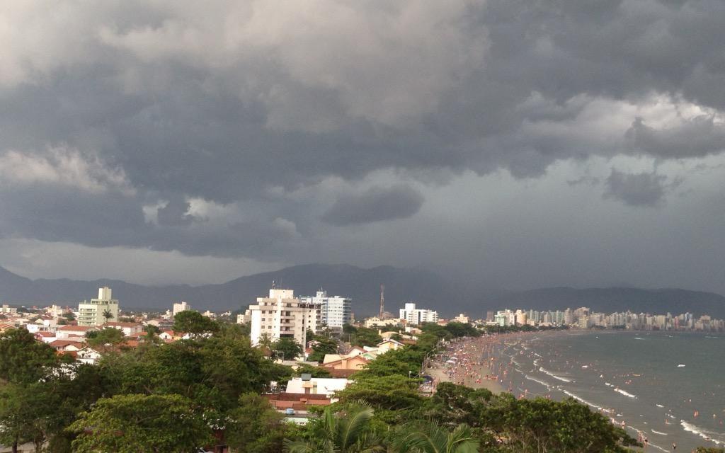 Instabilidade no Leste de Santa Catarina