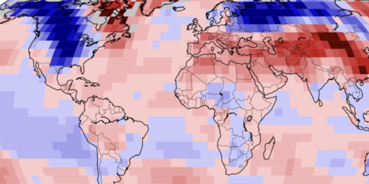 Um ponto fora da curva do aquecimento global?