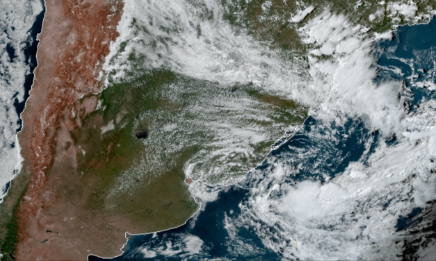 Ciclone na costa traz instabilidade isolada a partir desta terça