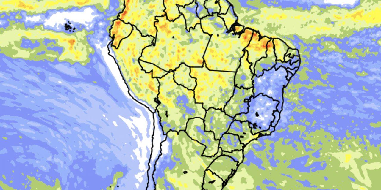 """<span class=""""entry-title-primary"""">Tendência de chuva para dez dias no Brasil</span> <span class=""""entry-subtitle"""">Norte do país e parte do Centro-Oeste devem ter os maiores acumulados de precipitação no período </span>"""