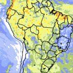 """<span class=""""entry-title-primary""""><span style='color:#ff0000;font-size:14px;'>PREVISÃO DO TEMPO </span><br> Tendência de chuva para dez dias no Brasil</span> <span class=""""entry-subtitle"""">Norte do país e parte do Centro-Oeste devem ter os maiores acumulados de precipitação no período </span>"""