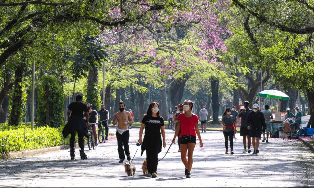 Ar mais frio traz dias agradáveis em São Paulo