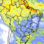 """<span class=""""entry-title-primary""""><span style='color:#ff0000;font-size:14px;'>PREVISÃO DO TEMPO </span><br> Tendência de chuva para dez dias em todo o Brasil</span> <span class=""""entry-subtitle"""">Áreas do Sul e do Norte do país devem ter os maiores acumulados de precipitação no período </span>"""