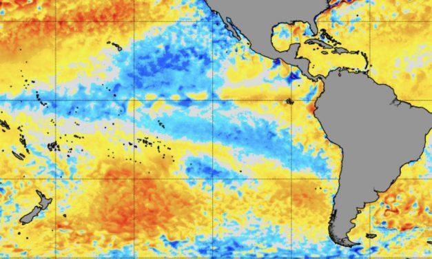 Fenômeno La Niña mais fraco no Pacífico