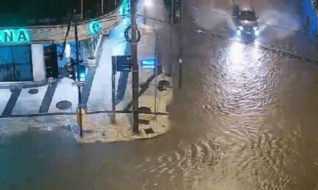 Chuva forte atinge o Rio de Janeiro