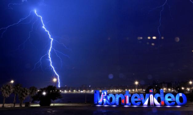 Uruguai será atingido por chuva extrema e fortes temporais