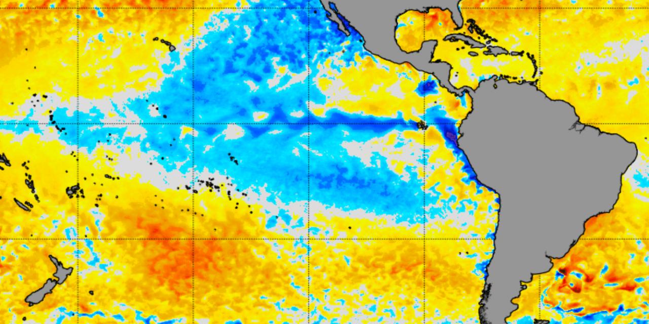 """<span class=""""entry-title-primary"""">Clima – La Niña resiste no Pacífico, diz a NOAA</span> <span class=""""entry-subtitle"""">Abril começa ainda sob La Niña, de acordo com a agência de clima do governo dos Estados Unidos </span>"""