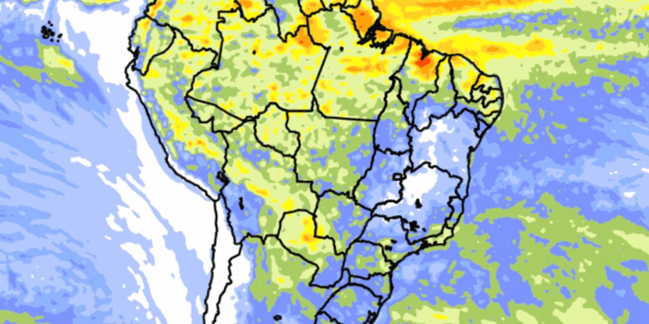 """<span class=""""entry-title-primary"""">Clima no Brasil – Tendência de chuva para dez dias</span> <span class=""""entry-subtitle"""">Norte do Brasil segue com tempo mais chuvoso e instabilidade retorna ao Rio Grande do Sul </span>"""