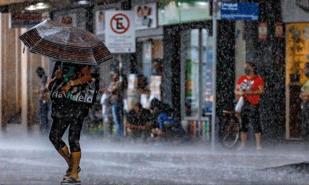 Chuva avança pelo Sul do Brasil
