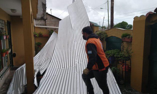 Ciclone causa estragos na Argentina