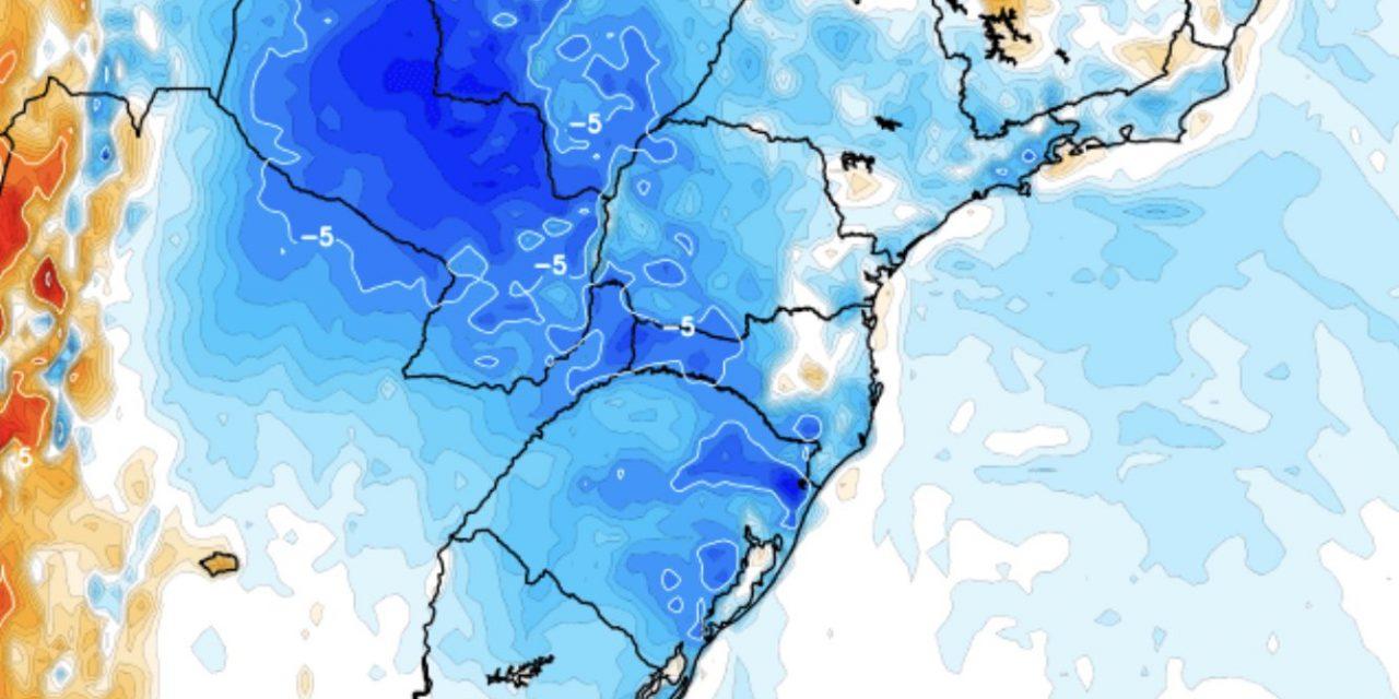 """<span class=""""entry-title-primary"""">Frio e geada no Sul do Brasil no fim de abril</span> <span class=""""entry-subtitle"""">Rio Grande do Sul, Santa Catarina e Paraná terão as menores temperaturas do ano até agora com chance de marcas abaixo de zero e formação de geada nas áreas de maior altitude da região</span>"""