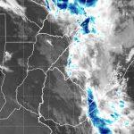 Chuva avança no Sul do Brasil com frente fria