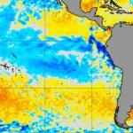 """<span class=""""entry-title-primary""""><span style='color:#ff0000;font-size:14px;'>PACÍFICO </span><br> La Niña nos seus últimos dias</span> <span class=""""entry-subtitle"""">Transição para a neutralidade no Pacífico Equatorial é iminente após meses do oceano sob a fase fria da La Niña</span>"""