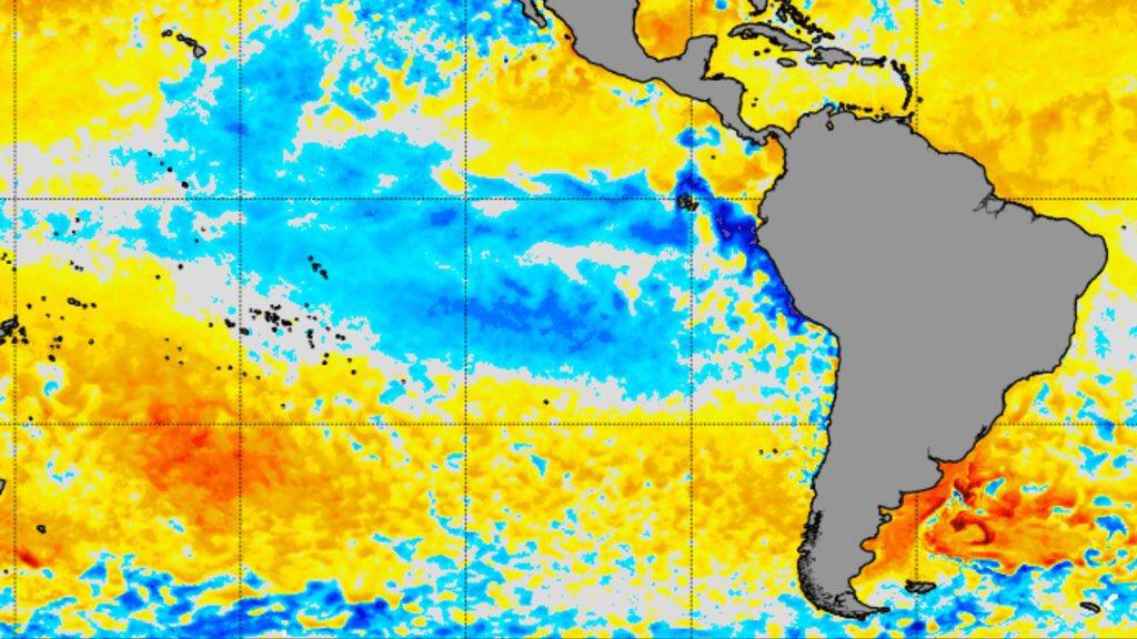 """<span class=""""entry-title-primary"""">La Niña nos seus últimos dias</span> <span class=""""entry-subtitle"""">Transição para a neutralidade no Pacífico Equatorial é iminente após meses do oceano sob a fase fria da La Niña</span>"""