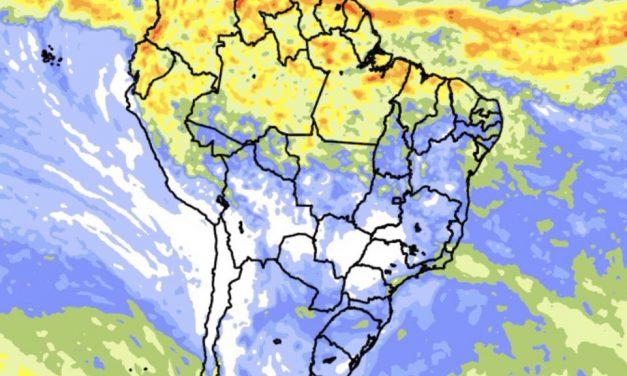 Clima no Brasil – Previsão do tempo e chuva para dez dias