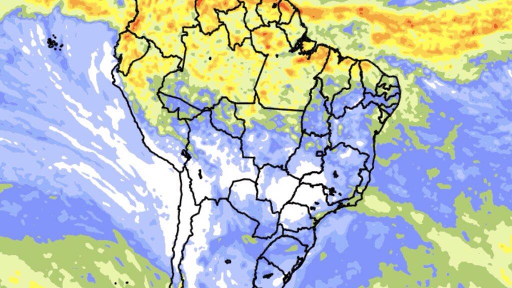 """<span class=""""entry-title-primary"""">Clima no Brasil – Previsão do tempo e chuva para dez dias</span> <span class=""""entry-subtitle"""">Mais chuva no Norte do Brasil e precipitações escassas no Centro-Sul do país </span>"""
