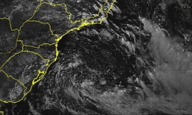 Sudeste tem instabilidade costeira pelo ciclone