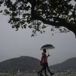 Frente fria muda o tempo no Sudeste do Brasil