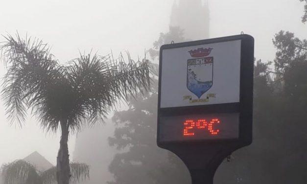 Rio Grande do Sul tem maior frio do ano até agora