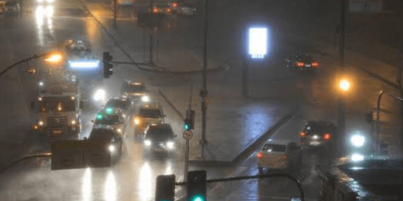 """<span class=""""entry-title-primary"""">Rio de Janeiro castigado por chuva intensa</span> <h2 class=""""entry-subtitle"""">Há alerta de deslizamentos de terra na capital fluminense </h2>"""