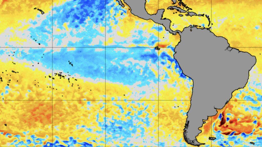 "<span class=""entry-title-primary"">La Niña chega ao fim</span> <span class=""entry-subtitle"">Anúncio oficial ocorreu pela NOAA, a agência climática dos Estadual Unidos. Saiba o que esperar com o retorno do Pacífico para neutralidade e os riscos para o Brasil. </span>"