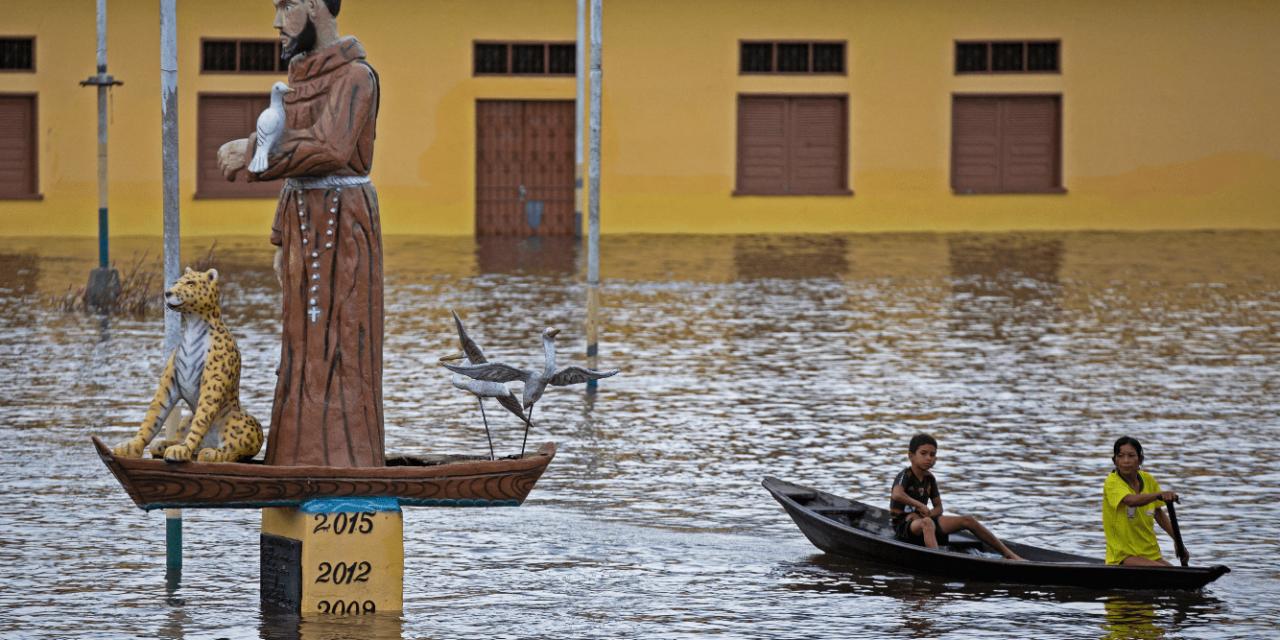 """<span class=""""entry-title-primary"""">Cheias recordes em Manaus e no interior do Amazonas</span> <span class=""""entry-subtitle"""">Nível do Rio Negro igualou recorde histórico neste domingo em Manaus com 29,97 metros e quase todas as cidades do Amazonas estão alagadas neste fim de maio </span>"""