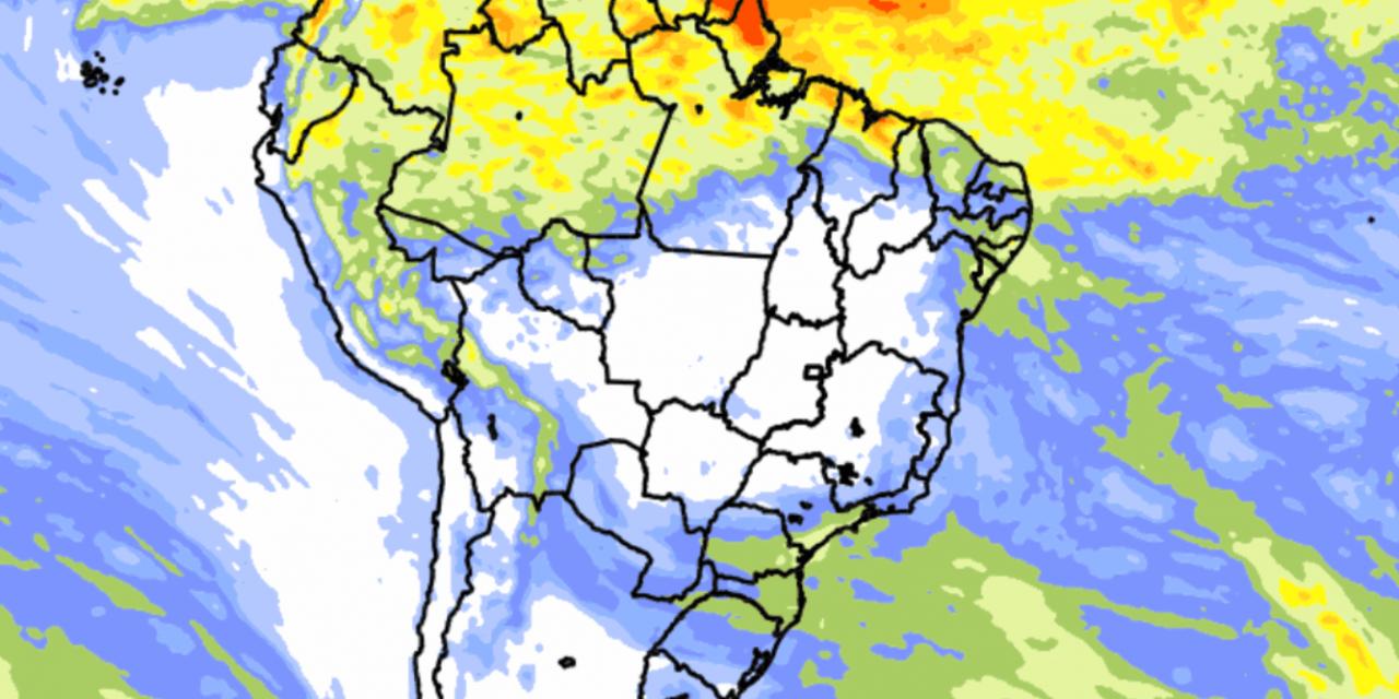 """<span class=""""entry-title-primary"""">Previsão do tempo Brasil – Chuva 10 dias</span> <h2 class=""""entry-subtitle"""">Extremos Sul e Norte do Brasil seguem concentrando os maiores volumes de chuva entre os dias 10 e 20 de maio </h2>"""