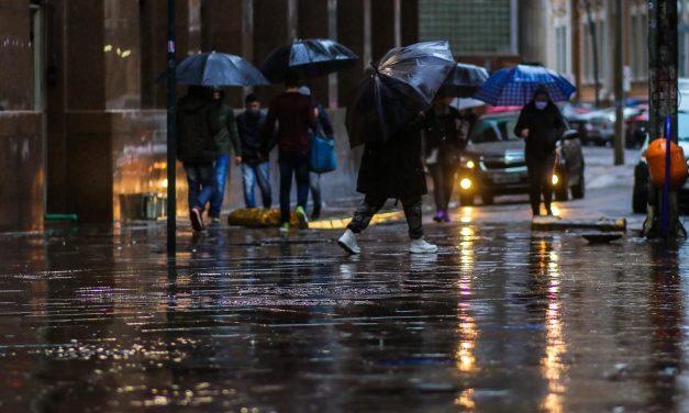 Frente fria traz chuva para o Sul do Brasil nesta semana