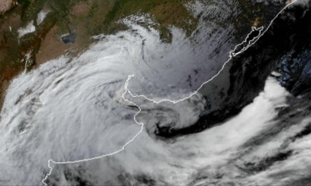 Ciclone quebra recorde na Argentina e trará muito vento