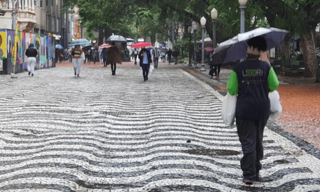 Chuva atinge os três estados do Sul nesta quinta-feira