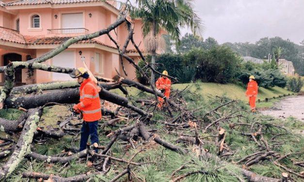 Ciclone causa estragos no Uruguai e se aproxima do Rio Grande do Sul