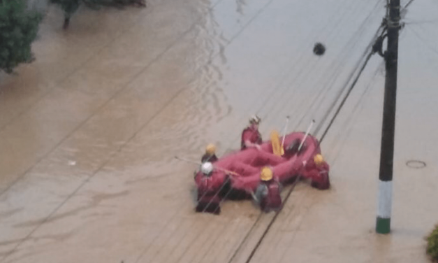 Aviso de chuva excessiva a extrema no Sul do Brasil