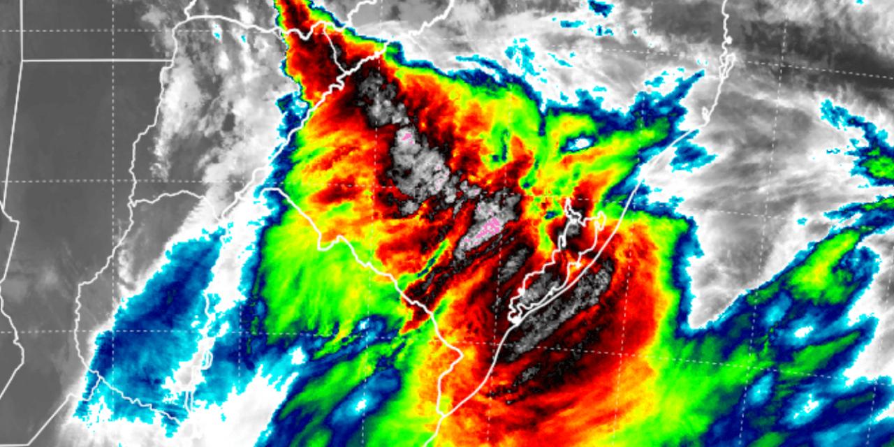 """<span class=""""entry-title-primary"""">Veja a previsão do tempo para esta quinta-feira (24/6)</span> <span class=""""entry-subtitle"""">Frente fria avança pelo Rio Grande do Sul com chuva e temporais isolados</span>"""