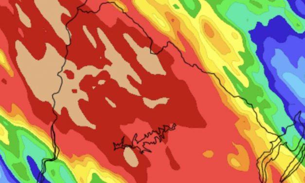 Uruguai tem risco de tempo severo e muita chuva