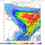 Chuva forte atingirá os três estados do Sul do país