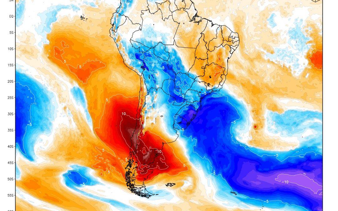 """Poderosa massa de ar polar chega ao Brasil no fim do mês Ar gelado poderá trazer primeira """"friagem"""" deste inverno"""