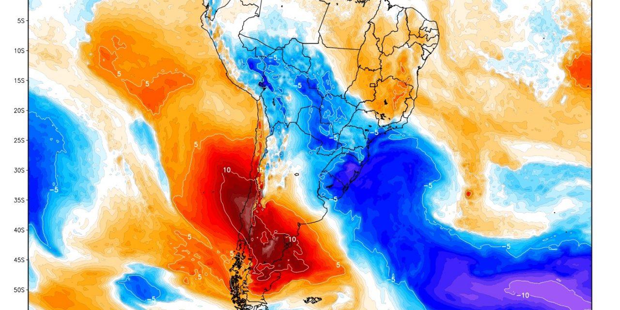 """<span class=""""entry-title-primary"""">Poderosa massa de ar polar chega ao Brasil no fim do mês</span> <h2 class=""""entry-subtitle"""">Ar gelado poderá trazer primeira """"friagem"""" deste inverno</h2>"""