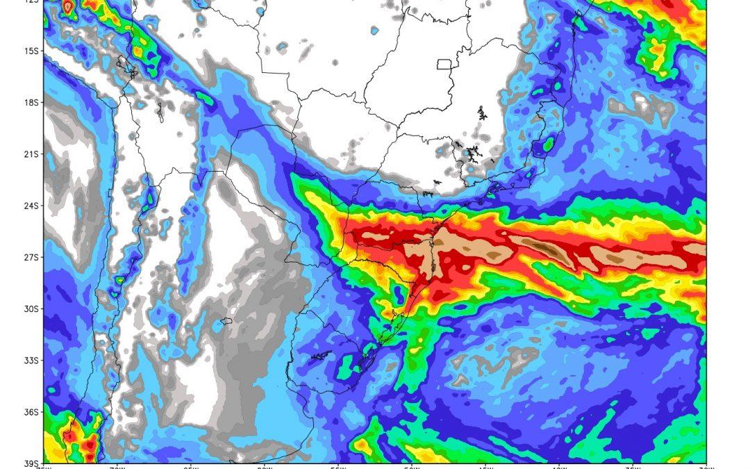 Chuva poderá atingir todas as regiões do país Em algumas áreas a instabilidade será isolada