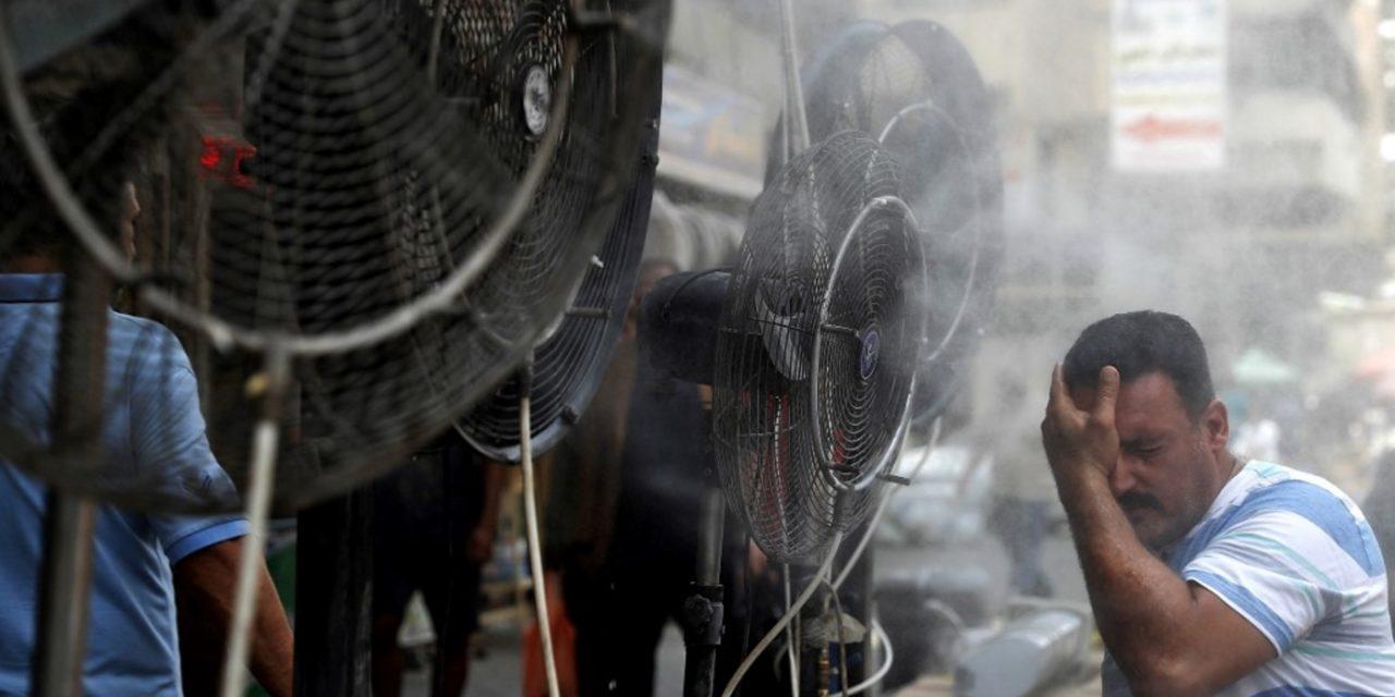 """<span class=""""entry-title-primary"""">Criança na geladeira para enfrentar calor de 50°C</span> <span class=""""entry-subtitle"""">Iraque enfrenta brutal onda de calor e para complicar o sistema elétrico do país entrou em colapso </span>"""