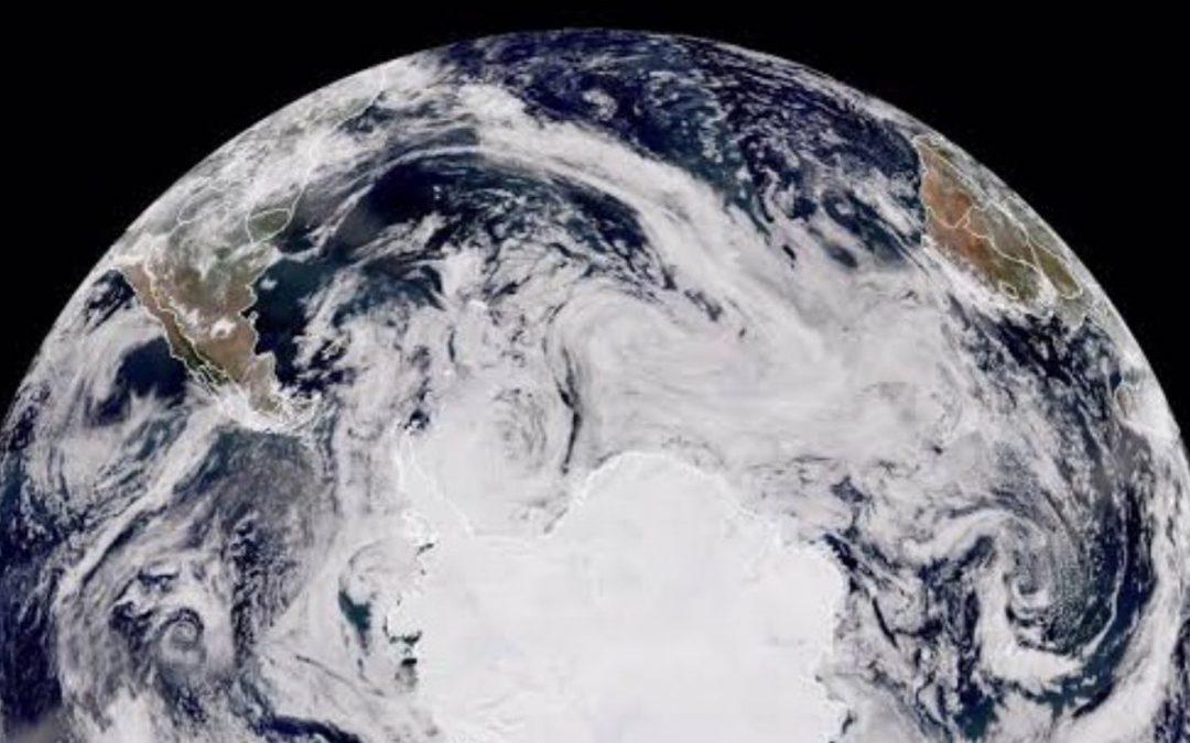 Corredor polar aberto para enormes ondas de frio no Hemisfério Sul Cenário meteorológico favorável a ondas de frio muito intensas e até extremas entre este final de julho e o começo de agosto