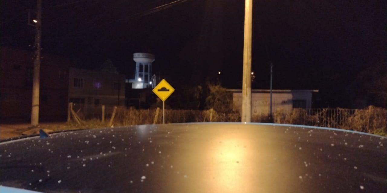 """<span class=""""entry-title-primary"""">Neve cai pelo segundo dia seguido no Sul do Brasil</span> <span class=""""entry-subtitle"""">Precipitação invernal mais uma vez foi muito discreta e localizada sem repetir as bonitas imagens da onda de frio do final do mês de junho </span>"""