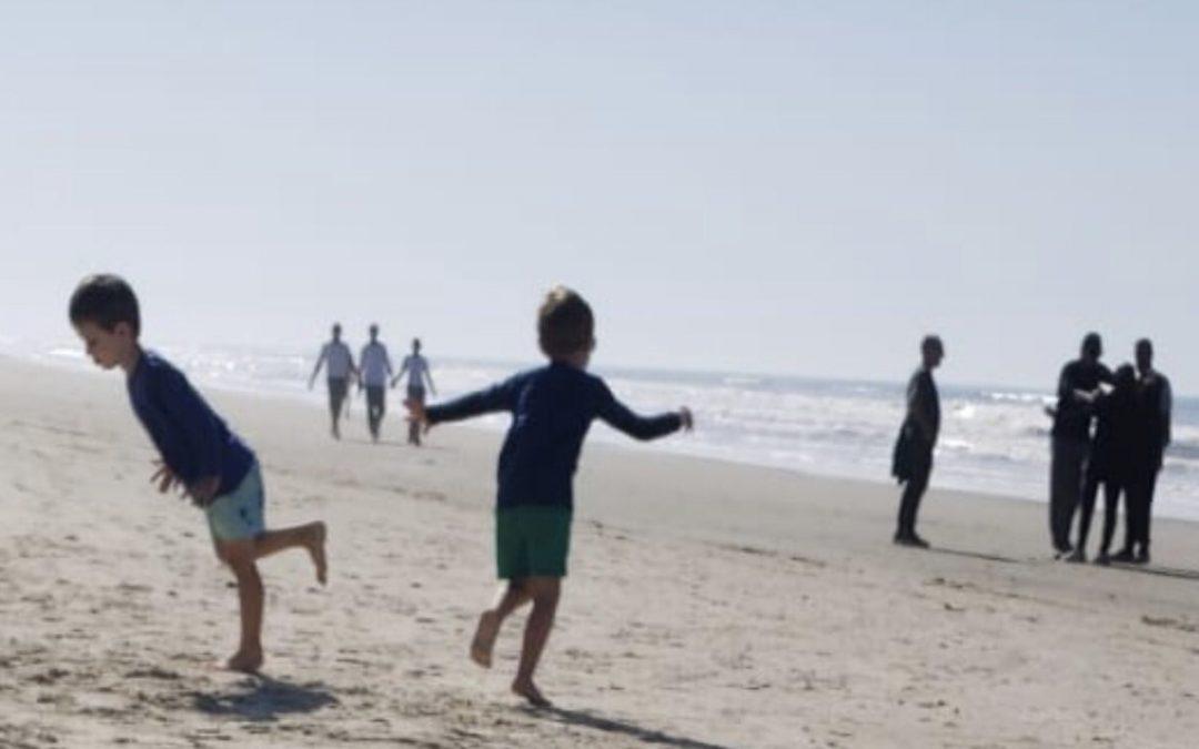 Praia e quase 33°C a três dias de potente massa de ar polar Rio Grande do Sul voltou a ter uma tarde muito quente para julho após mais um amanhecer com mínima negativa nos Aparados da Serra