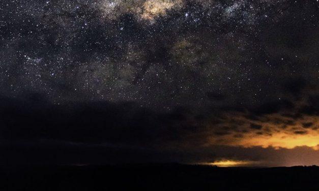 O ciclone bomba e a Via Láctea