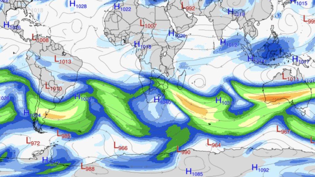 """<span class=""""entry-title-primary"""">Hemisfério Sul vive trem de ondas polares com recordes de décadas</span> <h2 class=""""entry-subtitle"""">Brasil, África do Sul e Austrália registram sucessivas ondas de ar antártico que derrubam recordes de décadas e vem ainda mais frio</h2>"""