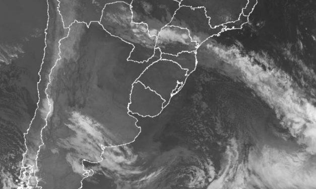 Frente fria traz chuva no Paraná, Mato Grosso do Sul e São Paulo